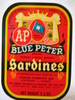 BLUE PETER SARDINES. A&P.