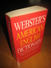 WEBSTER'S AMERICAN ENGLISH DICTIONARY. 1999.