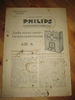 Phillips sercice dokumentasjon for SUPER INDUCTANCE 638A. 1934.