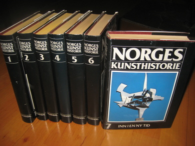 NORGES KUNSTHISTORIE. 1-7. 1981.